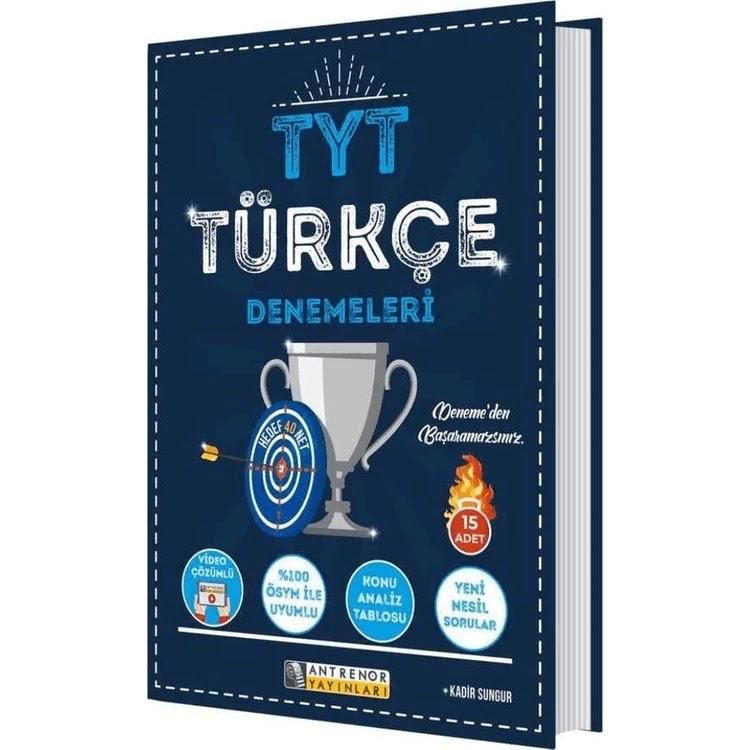 Antrenör Yayınları - TYT Türkçe - 15'li Deneme