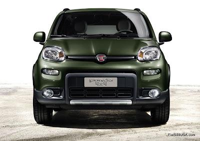 2013 Fiat Panda 4x4 front