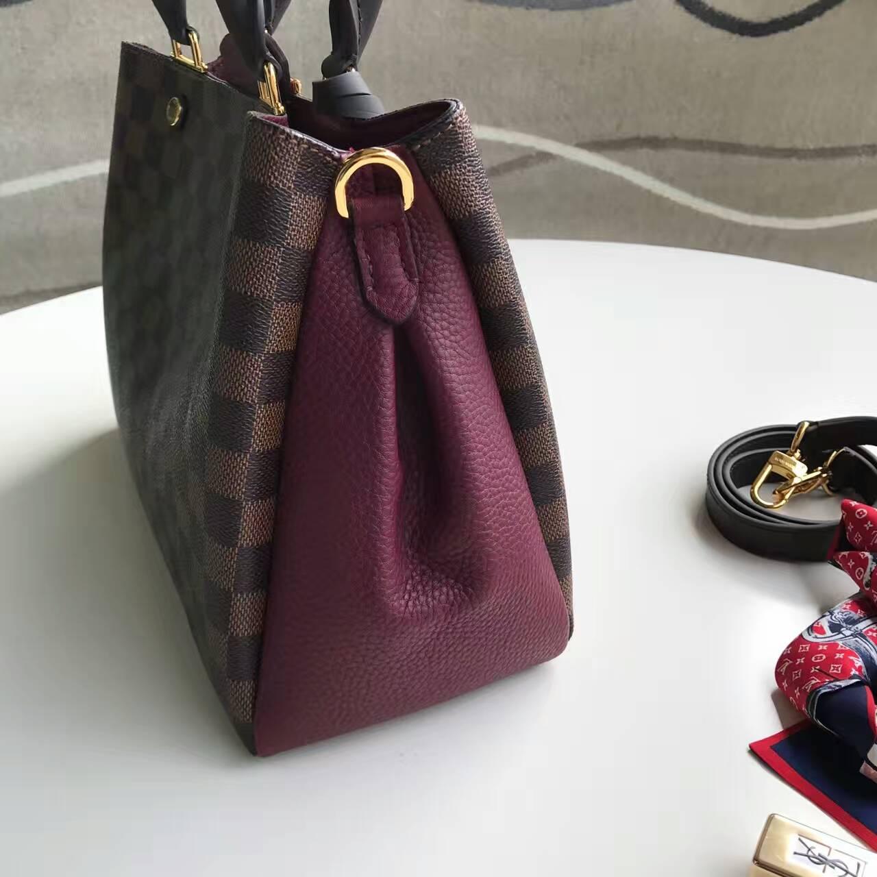 48ec44c9d33d Premium Handbag Wholesaler  Louis Vuitton Brittany N41675