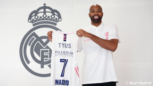 Oficial : Alex Tyus, nuevo jugador del Real Madrid