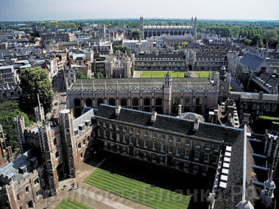 Kings College Cambridge University, Great Britain, КостаБланка.РФ