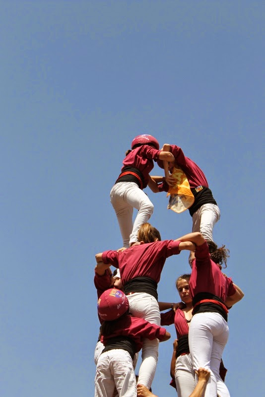 Castells Catalans Want to vote 8-06-14 - IMG_1954.JPG