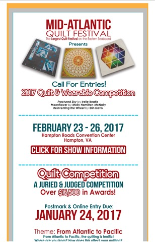 Mid-atlantic quilt festival newsletter