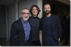 Silvio Orlando, Roberta Armani e Fabio Volo - SGP