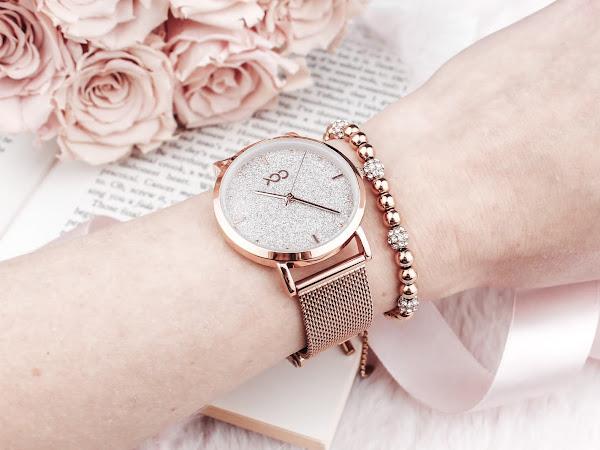 Xoo - Dazzle Horloge Rose Gold