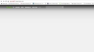 Why can't I watch hulu or netflix on my chromebook