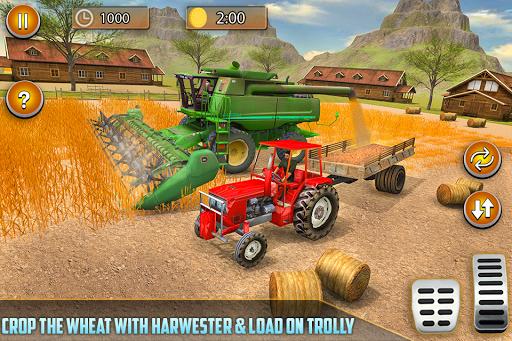 American Real Tractor Organic Farming Simulator 3D apktram screenshots 6