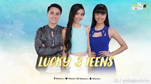 PBB Lucky Season 7 - Lucky 3 Teens
