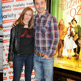 WWW.ENTSIMAGES.COM -     Maggie Dunne  and Joe McFadden at     The Wizard of Oz in IMAX 3D - charity film screening at The Empire Cinema London September 14th 2014Chairty film screening of classic film in aid of children's charity Variety.                                                 Photo Mobis Photos/OIC 0203 174 1069
