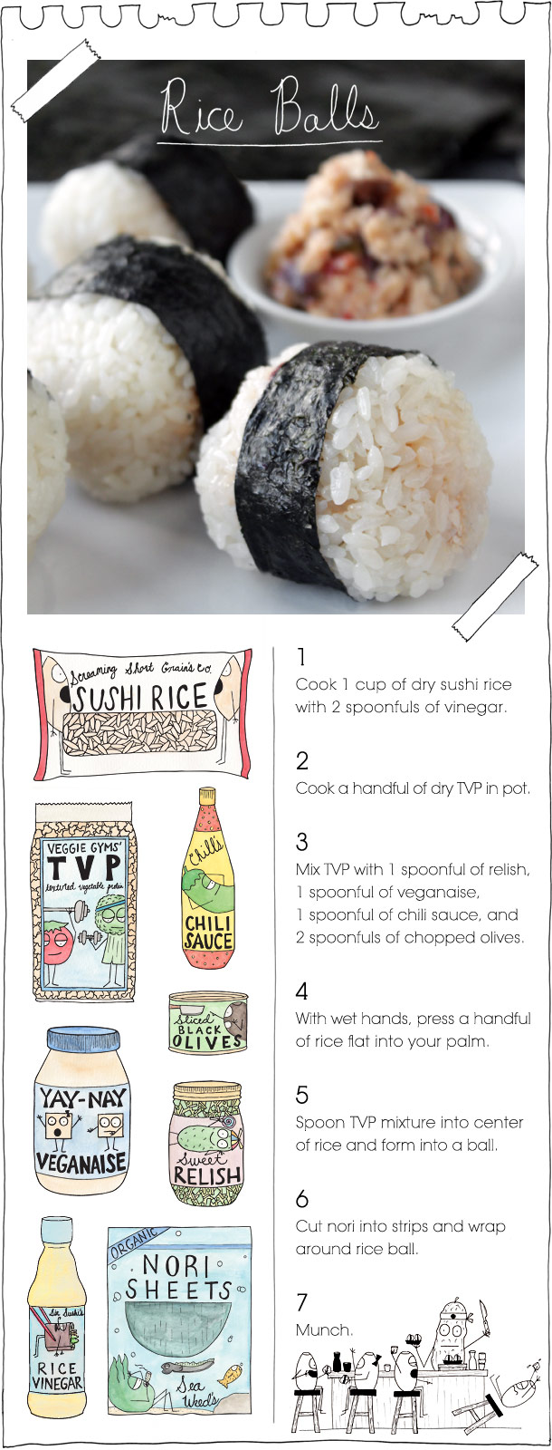 The Vegan Stoner's Rice Balls