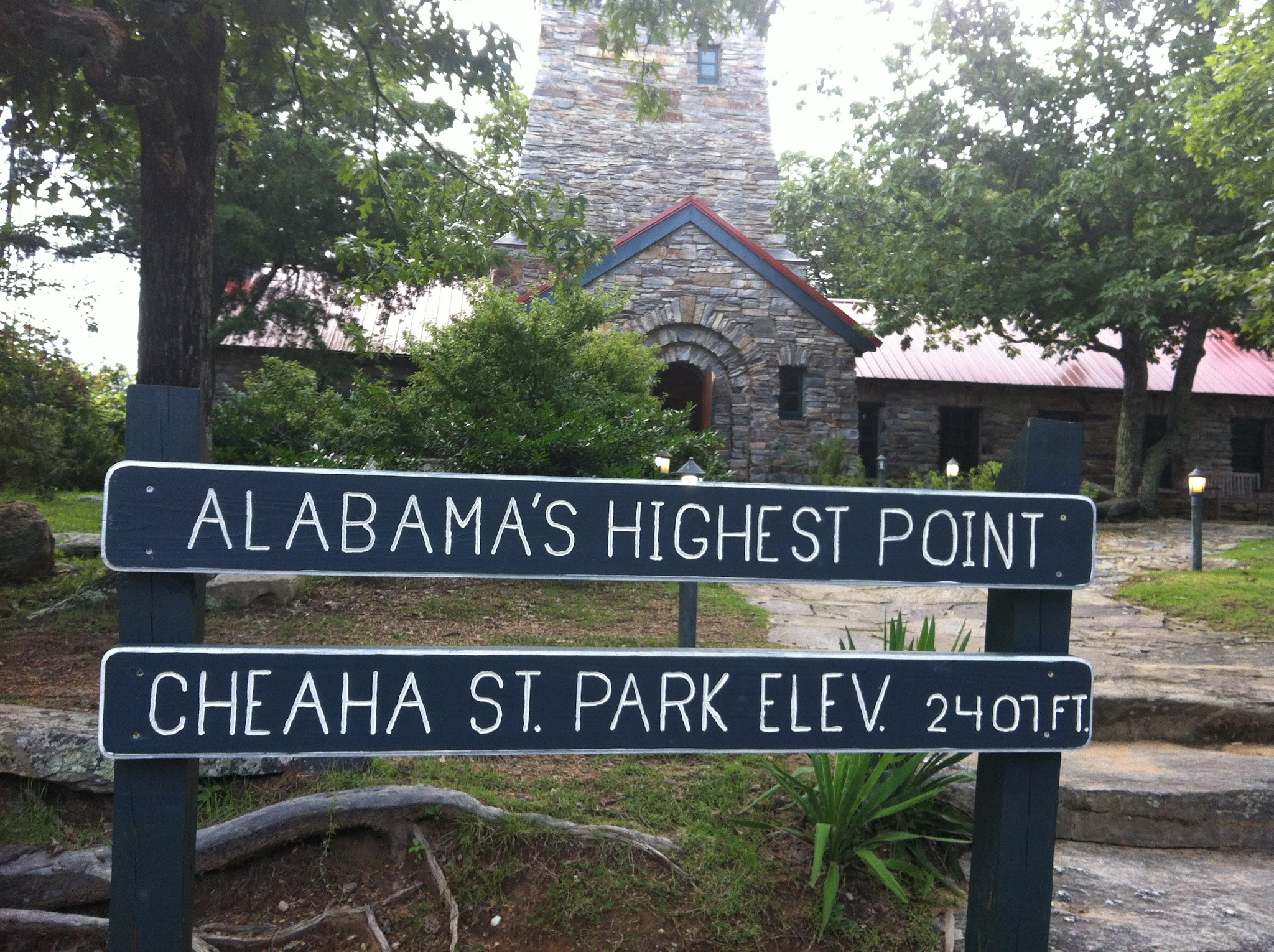 Cheaha Mountain Highpoint