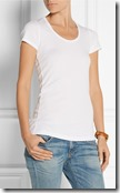 Splended cotton and modal blend jersey t-shirt