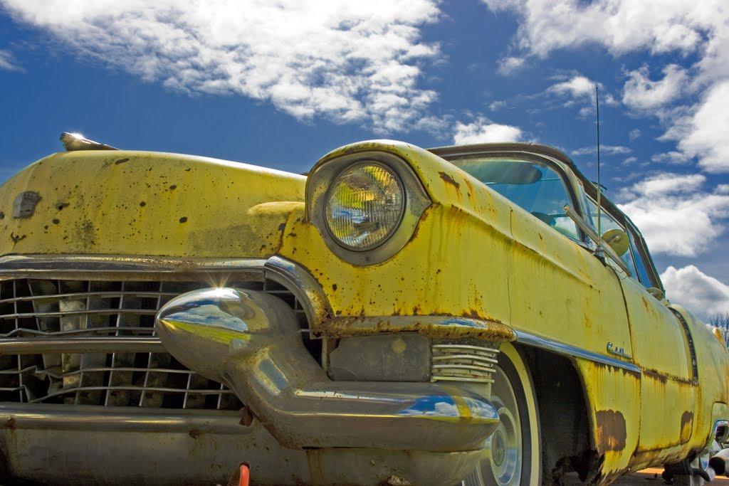 """Yellow Cadi"" by Barbara Lippert"