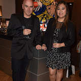 OIC - ENTSIMAGES.COM - Tony Moore - Iron Maiden Singer and Venessa Horca  at the  Bang and Olufsen 90th Anniversary Love London Collection  London 10th September 2015 Photo Mobis Photos/OIC 0203 174 1069