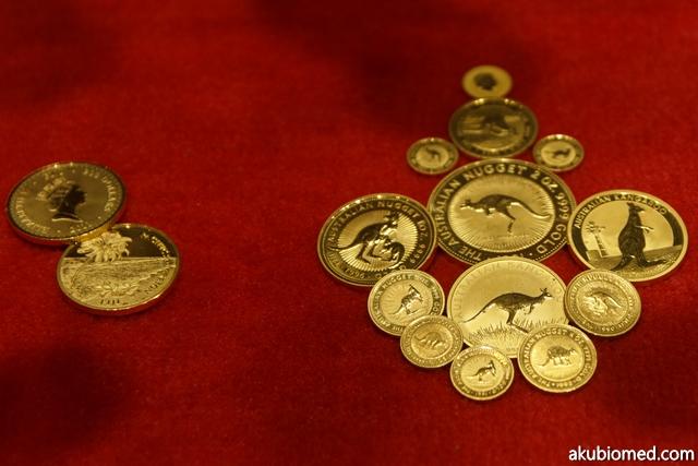 Koleksi Australian Gold Nugget