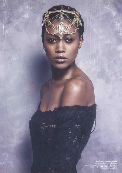 BEAUTIFUL HAIR ACCESSORIES LOOK FOR SOUTH AFRICAN WOMEN 10