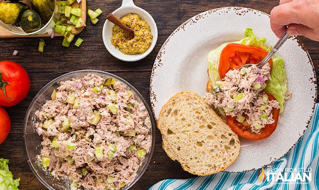 Tuna Salad on bread
