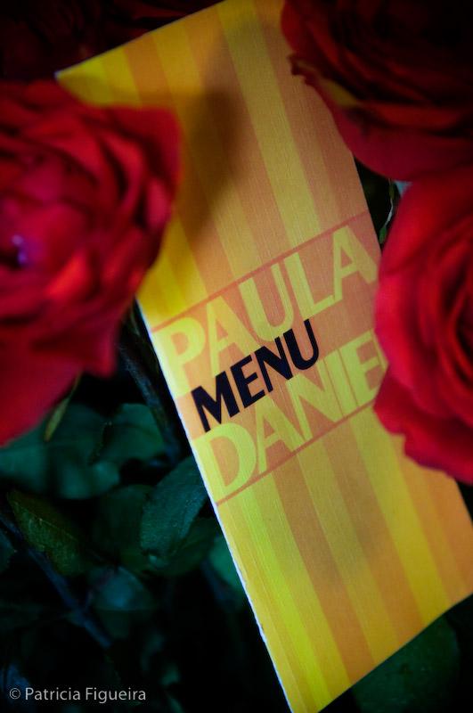 Foto de casamento 0082 de Paula e Daniel. Marcações: 08/11/2008, Cardapio Menu, Itaipava, Paula e Daniel.