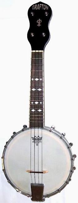 Grafron UB2 style Banjolele Banjo Ukulele