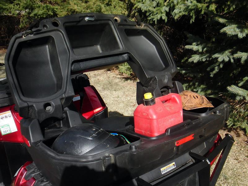 Ready For A New Back Seat Box Polaris Atv Forum