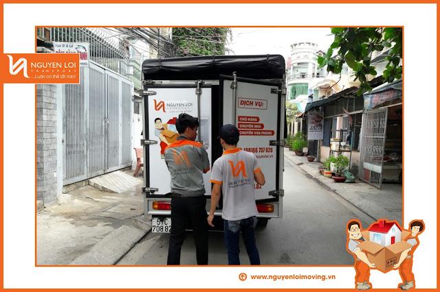 Thuê xe tải chuyển đồ - NguyenloiMoving