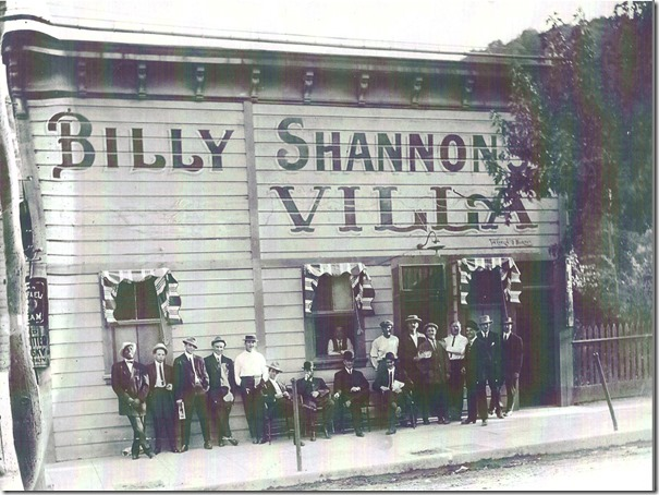 Billy Shannon's Villa - Circa 1912