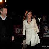 WWW.ENTSIMAGES.COM -  Graham Duff; Carol Vorderman arriving  at  Cirque Du Soleil: Kooza VIP Royal Albert Hall London January 8th 2013                                                       Photo Mobis Photos/OIC 0203 174 1069