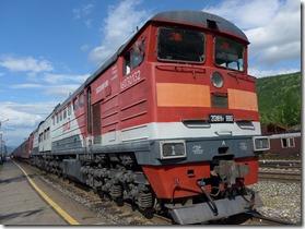 traction Diesel depuis Severobaikalsk