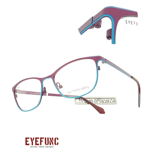 EYEFUNC colourful eyeglasses
