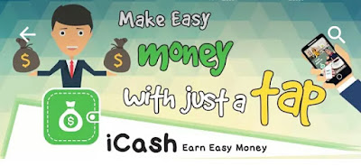 Earn Real money & paytm cash by icash app
