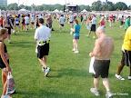 Hot, sweaty, stinky runners. Lots of them.