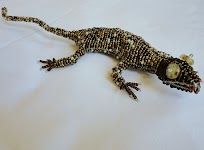 Beaded Lizard (Gold)