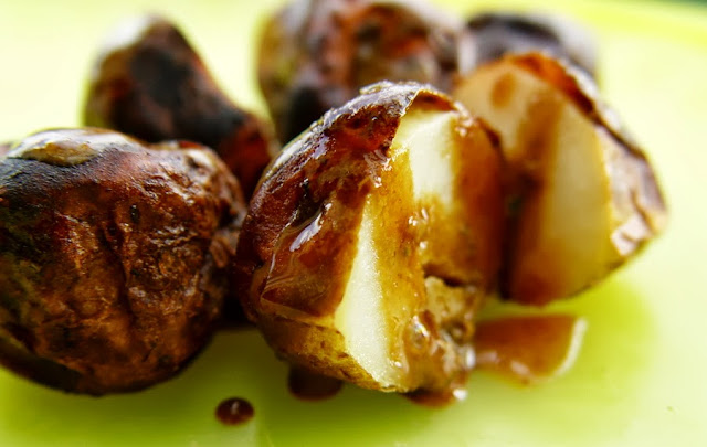 Balsamic Thyme Baby Potatoes