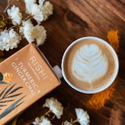 Turmeric Ginger Chai Tea Latte