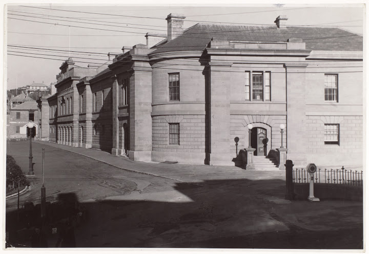 The Legislative Council Building, Parliament House, Hobart
