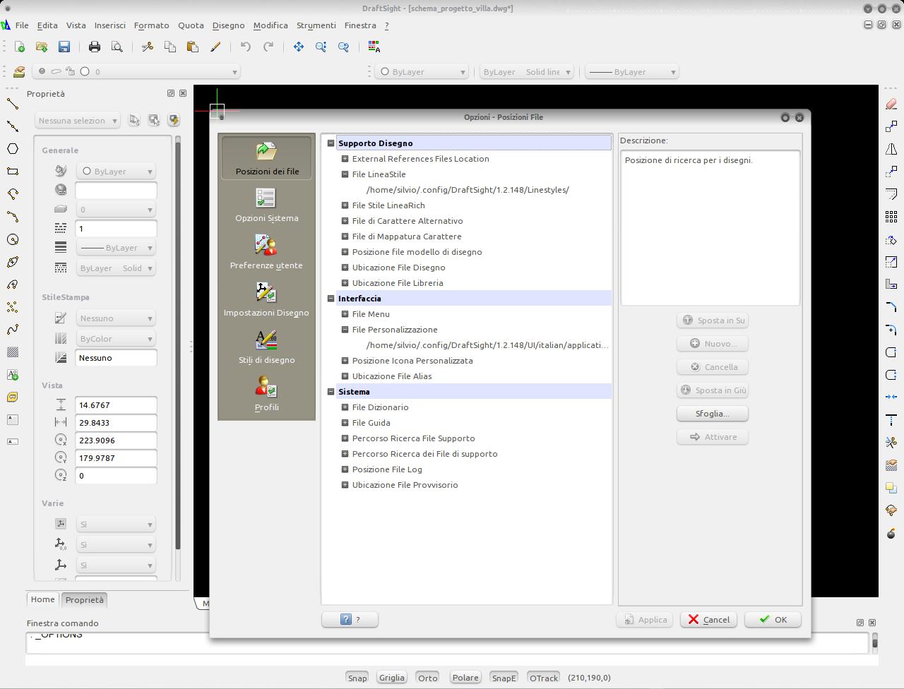 UbuntuBond: DraftSight