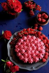 Excitation – Dense Sherry Chocolate Cake with Fresh Cream
