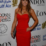 WWW.ENTSIMAGES.COM -   Luisa Zissman    at          London Lifestyle Awards at The Troxy, 490 Commercial Road, London,October 23rd 2013                                             Photo Mobis Photos/OIC 0203 174 1069