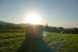Photo: Skorošice a hřeben Rychlebských hor v podvečer