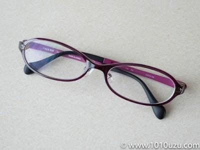購入したFREEFiTのメガネ