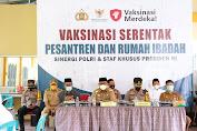 Ikuti Pertemuan Dengan Presiden Jokowi Agenda Vaksinasi Merdeka di Ponpes, Ini Harapan Wabup Soppeng Lutfi Halide