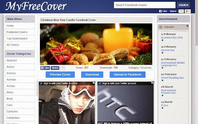 Facebook教學系列-免費FB封面下載