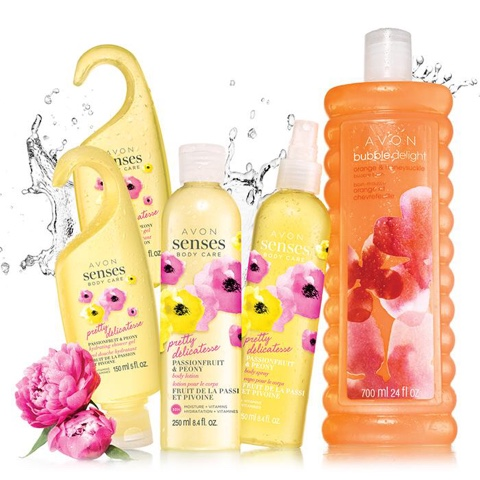 Avon Senses Pretty Passionate & Peony Collection $12.99