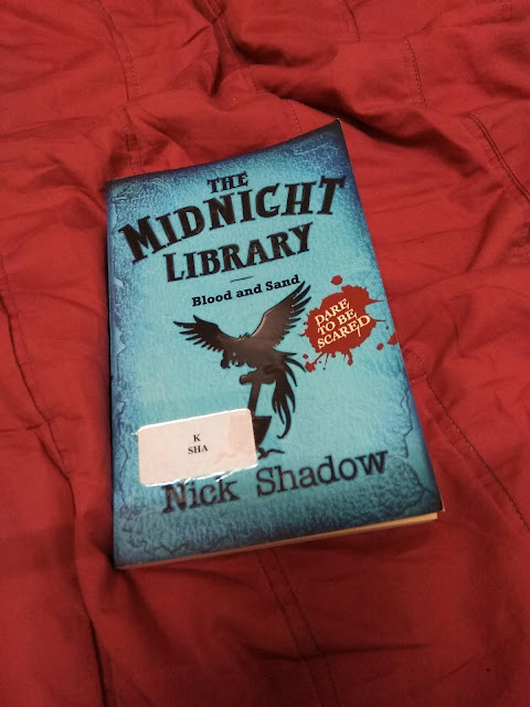 The Midnight Library : Blood and Sand (Vol II) by Nick Shadow