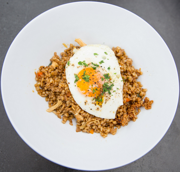 photo of Chicken Fried Farro