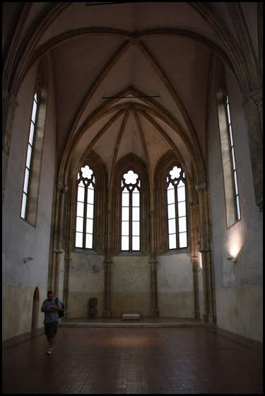 Presbytery of the Church of St Francis, St Agnes of Bohemia