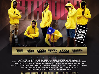 Event : T.S.O Entertainment - Last Man Standing
