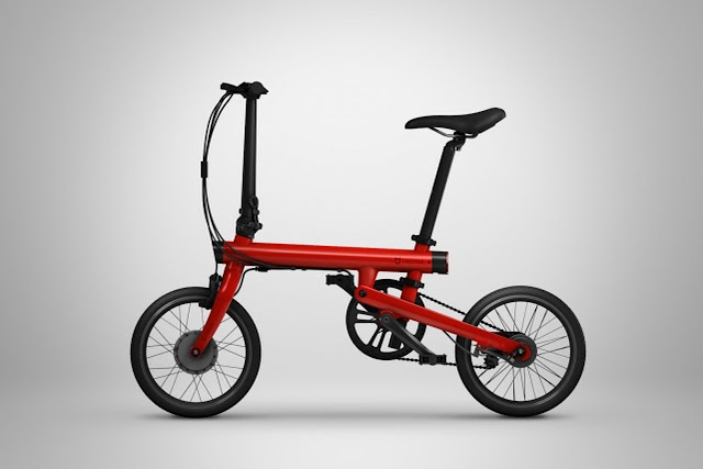 Xiaomi Unveils The Mi QiCycle - An Electric Powered Bicycle 1