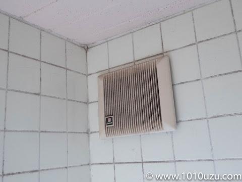 浴室の壊れた換気扇
