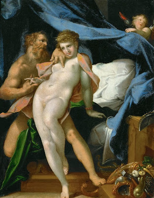 Bartholomeus Spranger - Vulcan and Maia